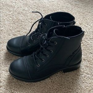 BRAND NEW Madden Girl Combat Boot